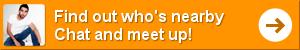 Applicazione Badoo per incontri in movimento